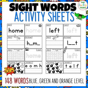 Sight Word Activity Worksheets Volume Two