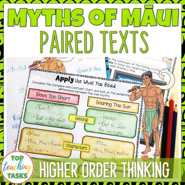 Myths of Maui Paired Texts