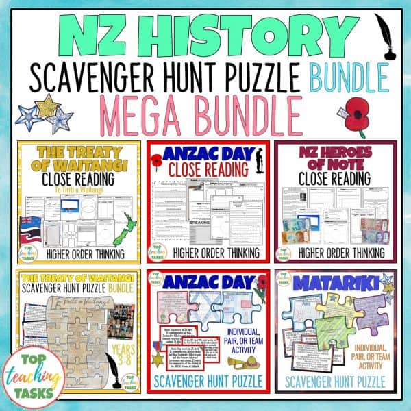 New Zealand History Reading Comprehension