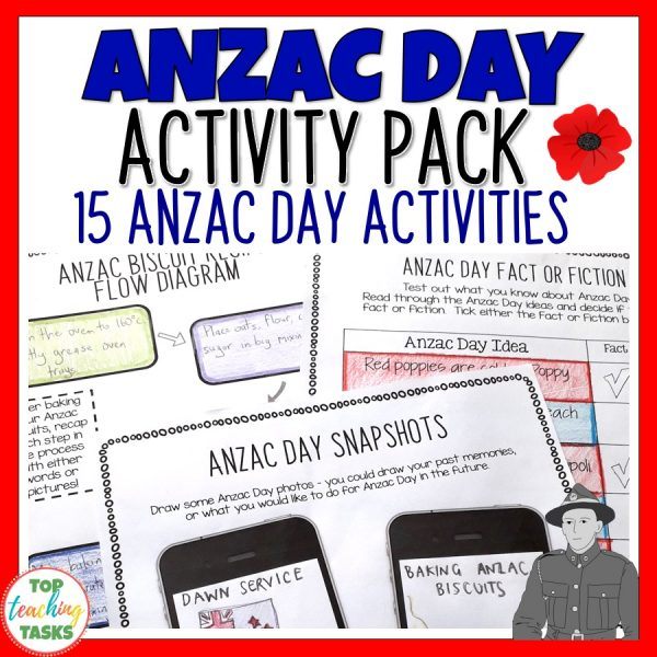 Anzac Day Activity Pack