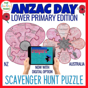 Anzac Day Year 3 and 4