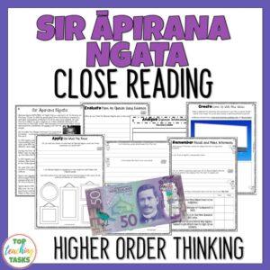 Sir Apirana Ngata Reading Comprehension