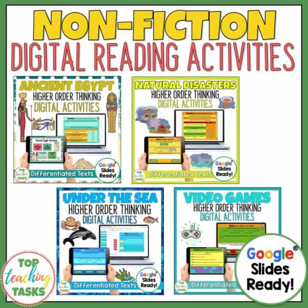 Digital Non-Fiction Reading Comprehension