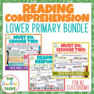 Lower Primary Reading Comprehension Bundle