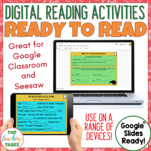 Digital Ready to Read Activities