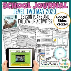 School Journal Level 2 May Follow Up Activities