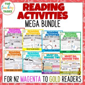 Ready to Read Activities Bundle Magenta to Gold Level 1-22