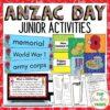 Anzac Day Junior Activities