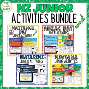 New Zealand Junior Activities Bundle