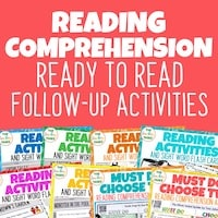 Ready to Read Follow Up Activities