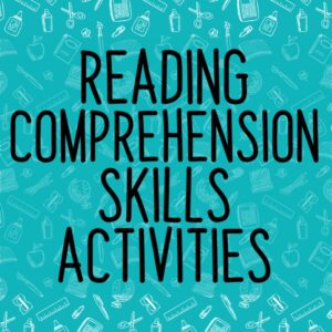 Reading Comprehension Skills Resources