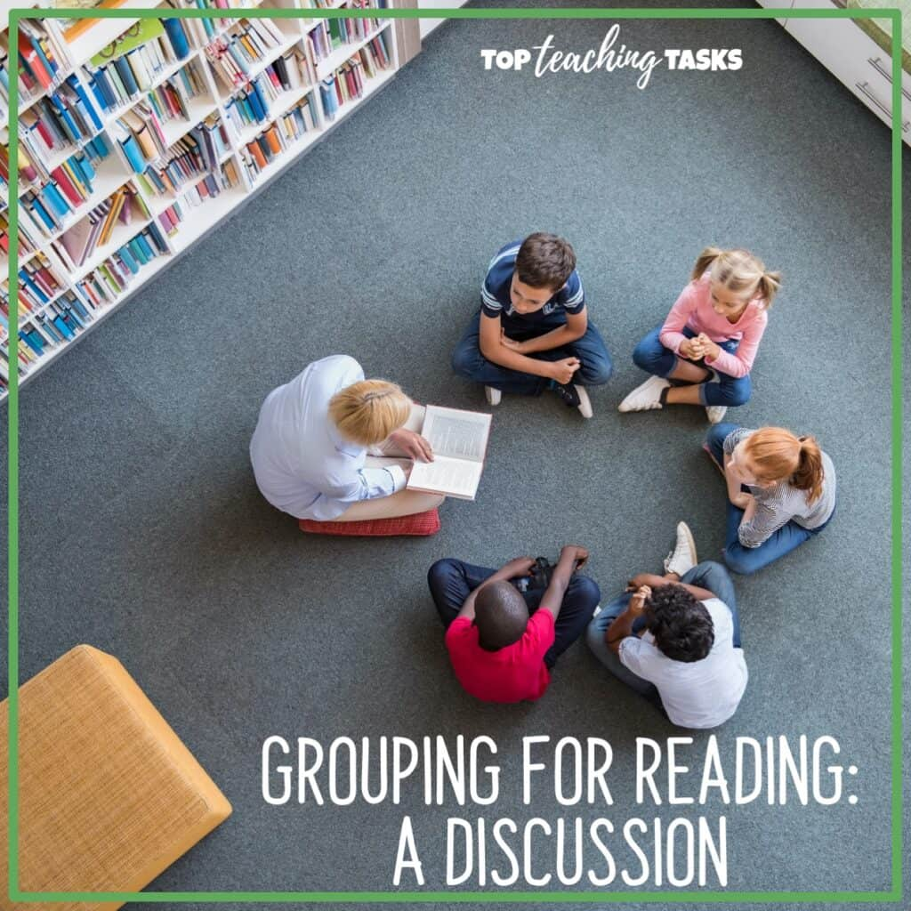 Grouping for reading - a discussion