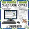 The Turtle and the Shark Samoan Myth