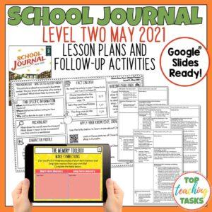School Journal Level 2 May 2021